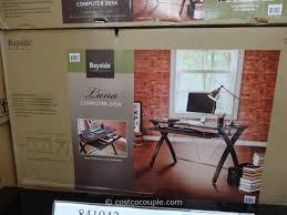 Computer Desk Costco Bayside Furnishings Computer Desk