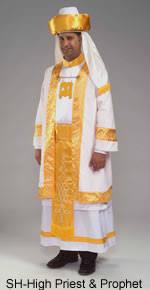high priest costume high priest prophet costume new london regalia