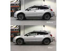 subaru crosstrek rims mann engineering lowering springs xv crosstrek