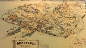 Map Of Burbank Ca The Story Behind Walt Disney U0027s First Disneyland Map Which Is Set