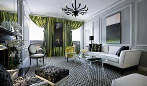 the living room with very impressive art deco interior ideas