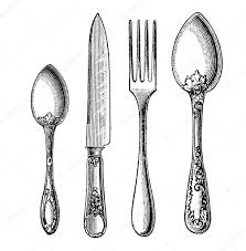 Kitchen Collection Vacaville by 100 Kitchen Forks And Knives Fork Knife Illustration Stock