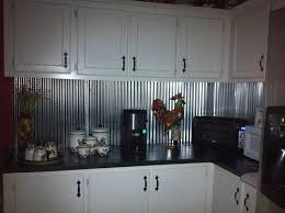 Metal Kitchen Backsplash Ideas Rustic Metal Backsplash Corrugated Metal For Backsplash Rustic