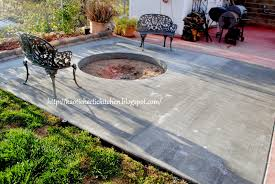 Diy Backyard Fire Pits by 10 Poured Concrete Fire Pit Concrete Ring With Cultured Stone
