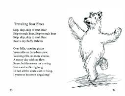 travel poems images No 14 traveling bear blues bearly bliss jpg