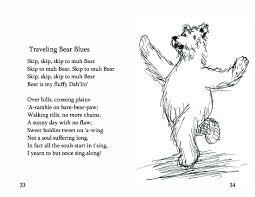 No 14 traveling bear blues bearly bliss