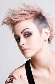 very short pixie hairstyle with saved sides short hairstyles shaved side short pixie haircuts