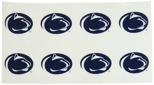 amazon com ncaa penn state nittany lions face tattoos set of 8