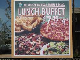 Lunch Buffet Special Picture Of Round Table Pizza Moreno Valley