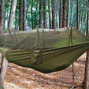 b1st dual hammock with mosquito bug net tent high strength nylon