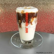 iced espresso macchiato italian coffee u2014 palmieri cafe