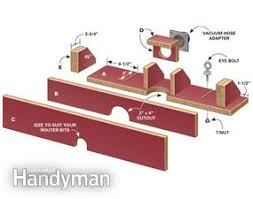 diy router table fence build a router table by upcycling a kitchen countertop family handyman