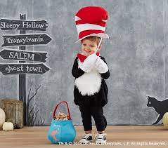 Cat In The Hat Costume Baby Dr Seuss U0027s Cat In The Hat Costume Pottery Barn Kids