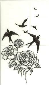 flowers bird tattoo design by artsy212 on deviantart