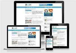 free blogger template templates for news magazine
