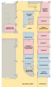 clinic floor plan services speech language hearing