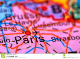 France On World Map by Paris Capital City Of France On The Map Stock Photo Image 69794707