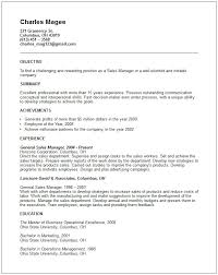 Sales  amp  Marketing Resume Examples General manager sales resume example