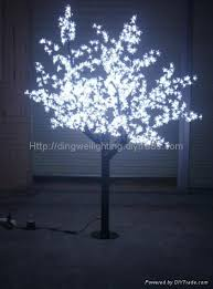 outdoor lighted cherry blossom tree 1 8m led outdoor garden lighting purple lighted cherry trees dw ct