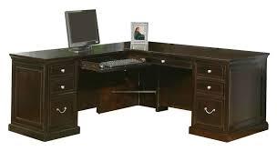 L Shaped Executive Desk Buy Fulton L Shaped Executive Desk With Left Facing Keyboard