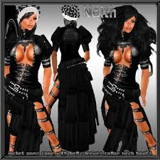 Neko Halloween Costume Marketplace Woman Gothic Dress