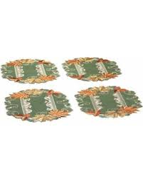 autumn harvest table linens spring savings on autumn harvest leaf table linens placemat rich