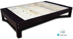 base de madera para cama individual base cama tipo box para recamara o cama individual en madera