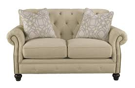 Beige Leather Loveseat Furniture Ashley Loveseat For Simple But Comfortable Furniture