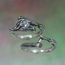 tree branch engagement ring the fanciful wedding rings