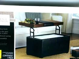 storage ottoman coffee table with trays couch table tray ottoman coffee table ottoman coffee table tray