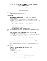 Family Law Attorney Resume Personal Injury Attorney Resume Microsoft Word Sample Law