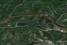 Map My Route Running by Meany Lodge Race Route Snoqualmie To Stump Pass Part 1