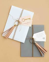 How To Wrap Wedding Gifts - 38 wedding favor gift wrapping ideas to steal martha stewart