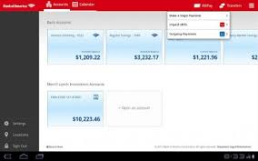 bank of america app for android tablets bank of america brings out a tablet optimized app talkandroid
