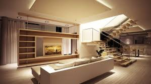 decor modern sofa with tv wall unit and half wall room divider