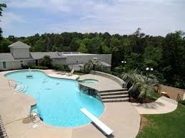 Backyard Pool And Basketball Court Terrell Owens U0027 8 Acre Estate With Massive Full Court Basketball