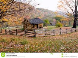 log cabin porch with chairs royalty free stock photography image