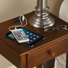 the efficient and stylish nightstand charging stand decohoms
