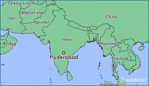 Hyderabad Map India Map Hyderabad Hyderabad Map Of India Telangana India
