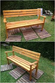 Patio Furniture Made With Pallets - 539 best pallet outdoor furniture images on pinterest pallet