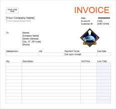 Receipt Template Excel Catering Invoice Template Printable Word Excel Invoice
