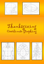 celebrate thanksgiving and fall with these coordinate graphing