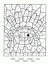 color by number indian coloring page for kids education coloring