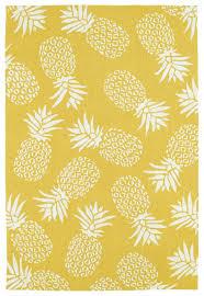 Pineapple Area Rug Golden Pineapple Area Rug