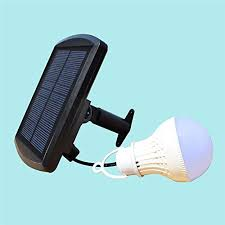 Solar Energy Lighting - hansuo portable solar panel led bulb lights outdoor solar energy