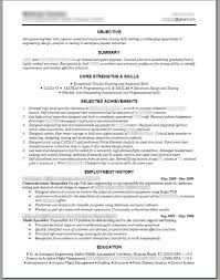 Best Engineering Resume Samples by Circuit Design Engineer Sample Resume Haadyaooverbayresort Com