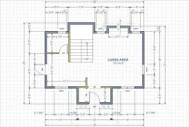 dimensioned floor plan crudely drawn 615 sq ft cottage small cabin forum 1