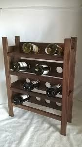 Walnut Wine Cabinet Best 25 Tall Wine Rack Ideas On Pinterest Wine Racks Wine Rack