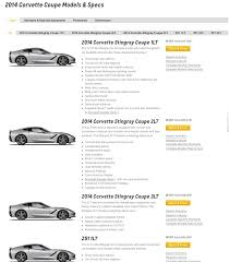 what is the difference between 2lt and 3lt corvette trim levels anyone a 1lt chevrolet corvette stingray c7