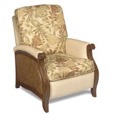 Slaters Furniture Modesto by Hooker Furniture Windward Push Recliner With Raffia Accents Ahfa